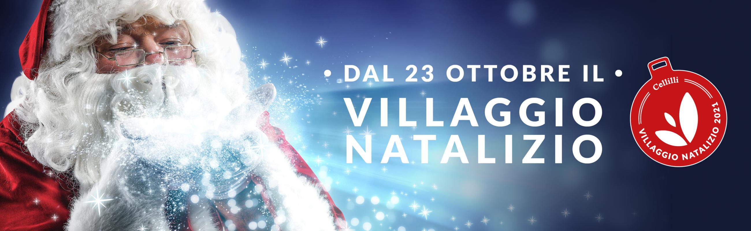 Villaggio natalizio 2021